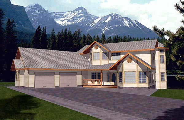 Traditional House Plan 86761 Elevation