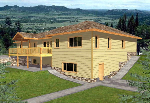 Traditional House Plan 86762 Elevation