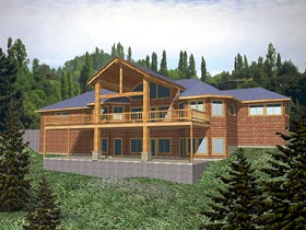 Contemporary House Plan 86767 Elevation