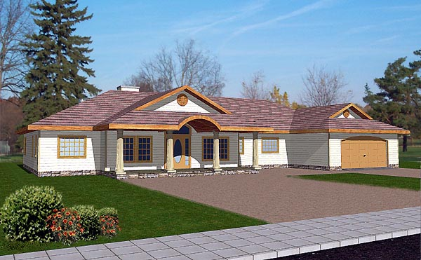 Traditional House Plan 86768 Elevation