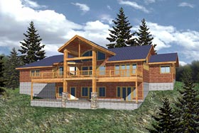 Traditional House Plan 86773 Elevation