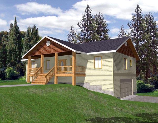 Craftsman House Plan 86774 Elevation