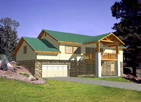 Traditional House Plan 86777 Elevation