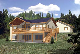 Traditional House Plan 86779 Elevation
