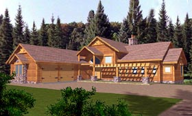 Traditional House Plan 86782 Elevation