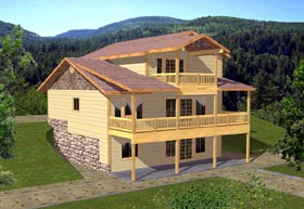 Traditional House Plan 86783 Elevation