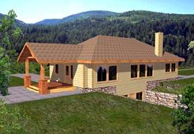 House Plan 86784
