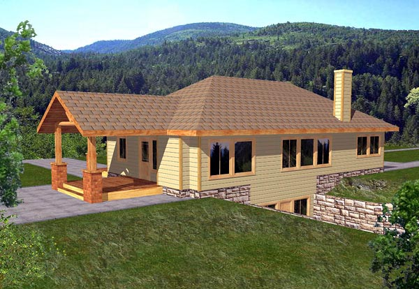 Traditional House Plan 86784 Elevation
