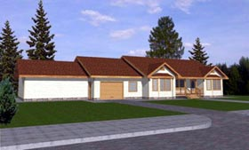 Traditional House Plan 86787 Elevation