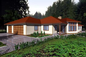 Traditional House Plan 86789 Elevation