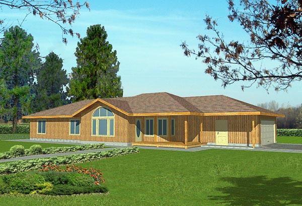 House Plan 86791