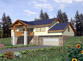 Traditional House Plan 86792 Elevation