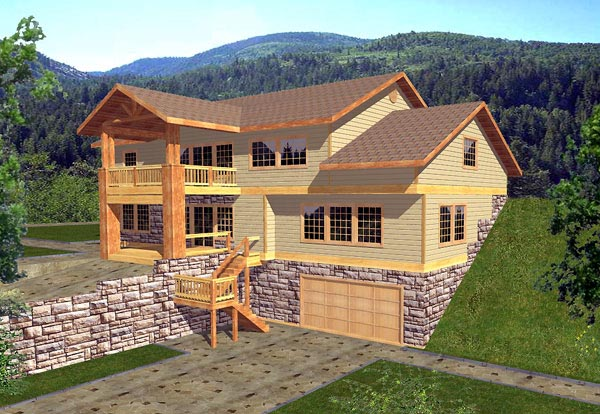 Traditional House Plan 86793 Elevation