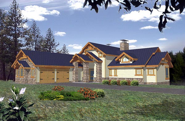 Craftsman House Plan 86794 Elevation