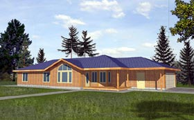 House Plan 86801