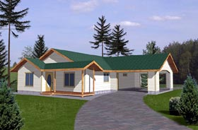 Plan Number 86802 - 1428 Square Feet