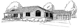 Traditional House Plan 86804 Elevation