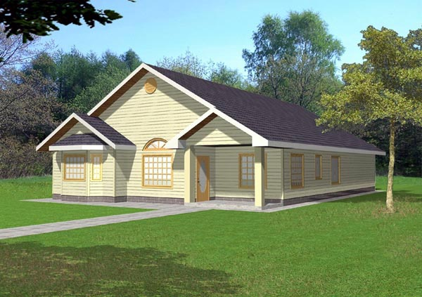 Country House Plan 86805 Elevation