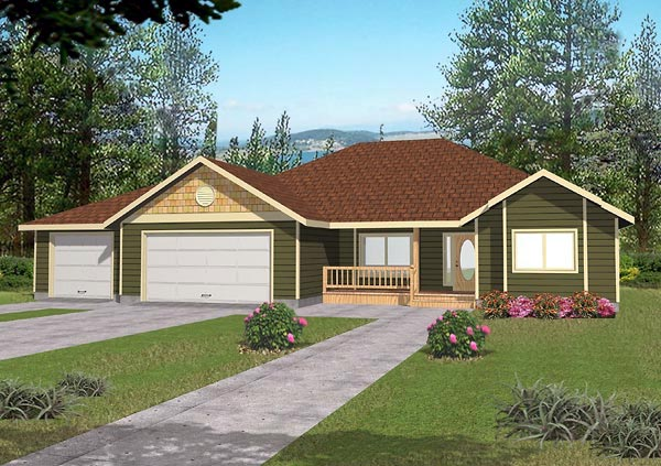 Traditional House Plan 86807 Elevation