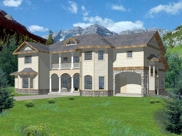 Victorian House Plan 86811 with 6 Beds , 7 Baths Elevation