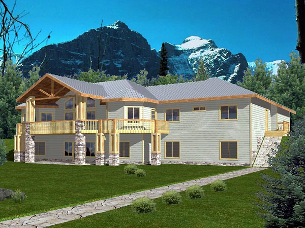 Traditional House Plan 86815 Elevation