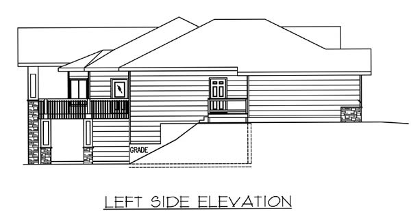Traditional House Plan 86815 with 3 Beds, 4 Baths, 3 Car Garage Picture 1