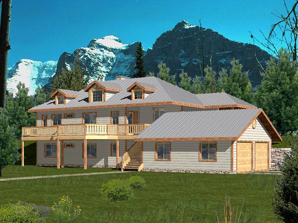 Traditional House Plan 86816 Elevation