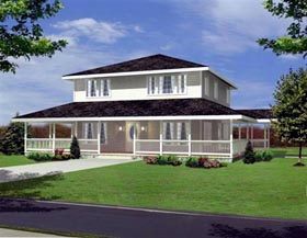 Traditional House Plan 86818 Elevation
