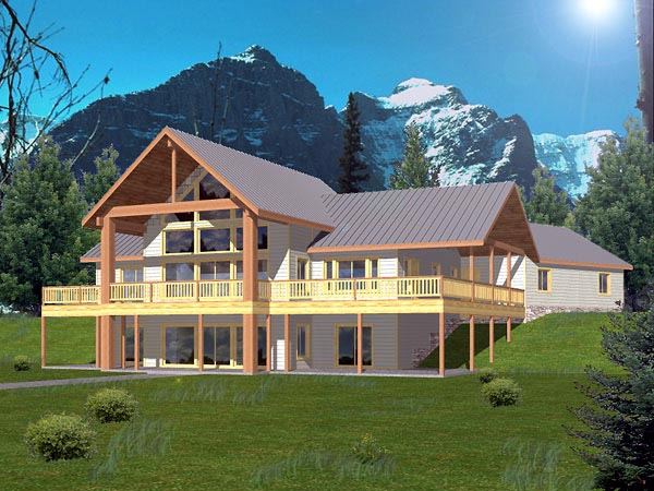 Traditional House Plan 86819 Elevation