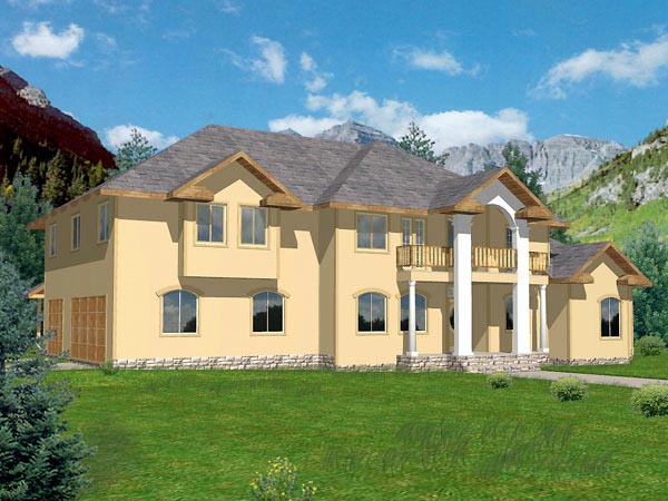 Traditional House Plan 86822 Elevation