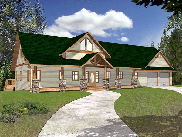 Traditional House Plan 86823 Elevation