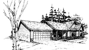 Traditional House Plan 86824 Elevation
