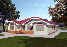 Bungalow House Plan 86831 Elevation
