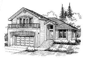 Traditional House Plan 86832 Elevation