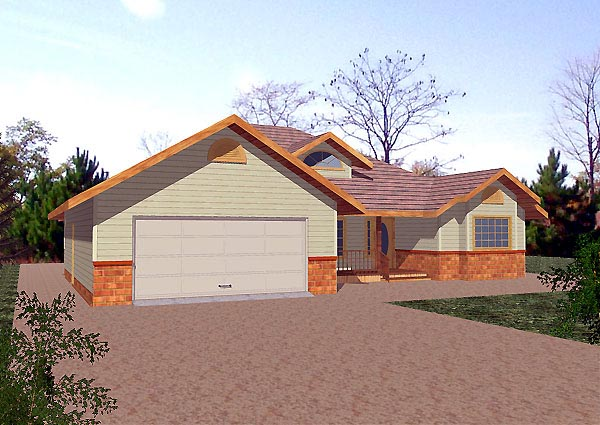 Traditional House Plan 86833 Elevation