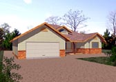 Plan Number 86833 - 1605 Square Feet