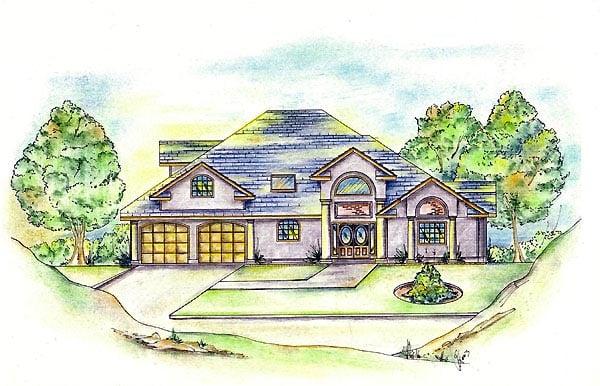 House Plan 86843