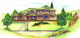 Traditional House Plan 86847 Elevation