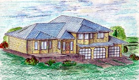 Traditional House Plan 86848 Elevation