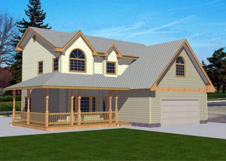 Country House Plan 86857 Elevation