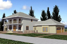 Traditional House Plan 86858 Elevation