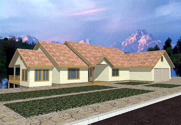 House Plan 86860
