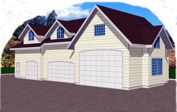 Garage Plan 86869 Elevation
