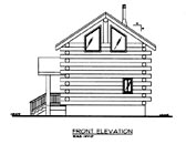 Plan Number 86870 - 640 Square Feet