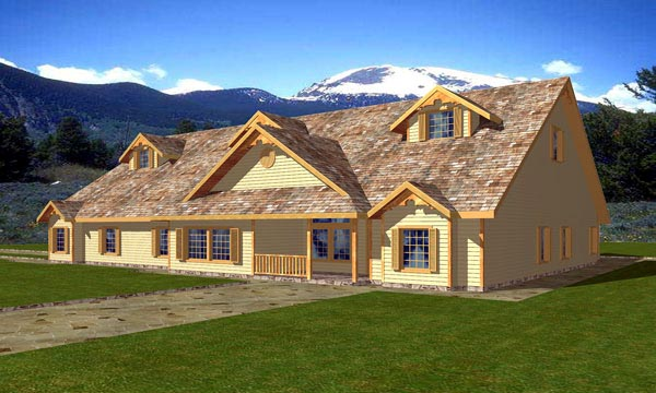 Traditional House Plan 86874 Elevation