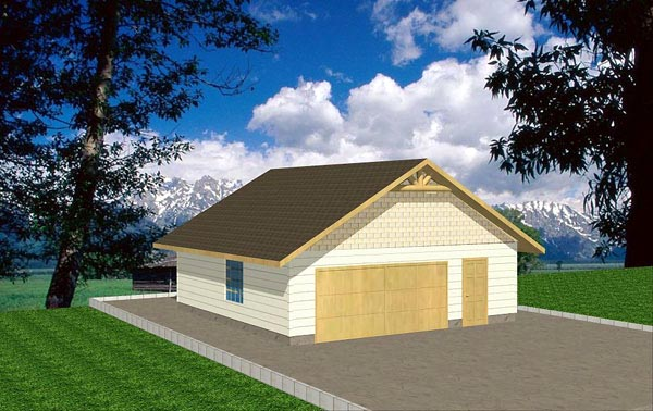 Garage Plan 86876