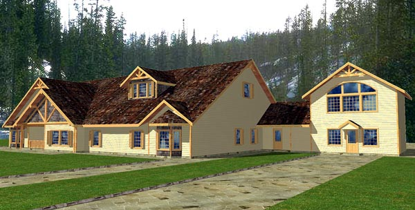 Traditional House Plan 86877 Elevation