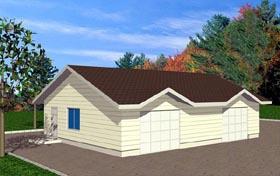 Garage Plan 86878