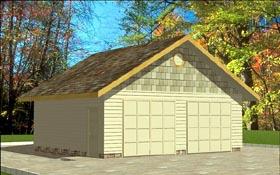 Garage Plan 86880