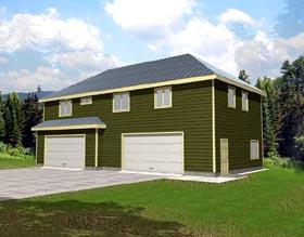 Garage Plan 86883